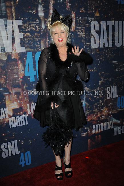 WWW.ACEPIXS.COM<br /> February 15, 2015 New York City<br /> <br /> Victoria Jackson walking the red carpet at the SNL 40th Anniversary Special at 30 Rockefeller Plaza on February 15, 2015 in New York City.<br /> <br /> Please byline: Kristin Callahan/AcePictures<br /> <br /> ACEPIXS.COM<br /> <br /> Tel: (646) 769 0430<br /> e-mail: info@acepixs.com<br /> web: http://www.acepixs.com