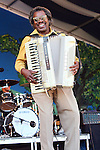 "May 6, 2011 New Orleans, La.: Singer / Musician Buckwheat Zydeco performs ""2011 New Orleans Jazz & Heritage Festival"" on May 6, 2011 in New Orleans, La."