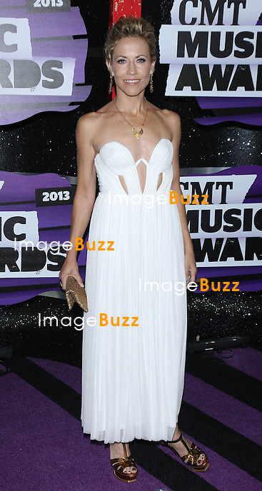 Sheryl  Crow at the 2013 Country Music Awards in Nashville, Tennessee. June 5, 2013.