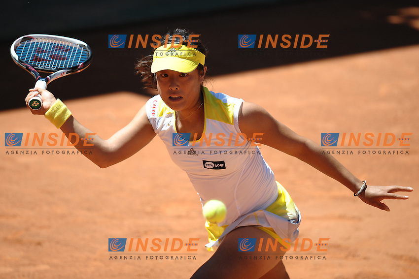Ayumi Morita.Roma 13/05/2013 Foro Italico .Tennis Internazionali d'Italia 2013 .Foto Antonietta Baldassarre Insidefoto