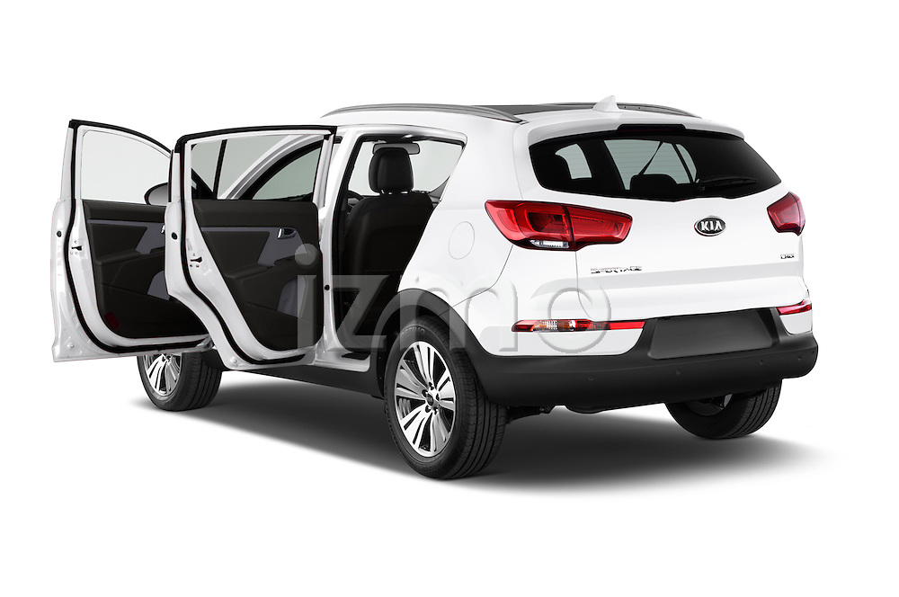 Car images of a 2014 KIA SPORTAGE Sense 5 Door SUV 2WD Doors