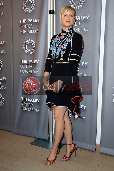 """Taylor Schilling<br /> at the Paleylive LA Event with Netflix's """"Orange Is The New Black,"""" Paley Center for Media, Beverly Hills, CA 05-26-16<br /> David Edwards/Dailyceleb.com 818-249-4998"""
