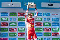 Picture by SWpix.com - 06/05/2018 - Cycling - 2018 Tour de Yorkshire - Stage 4: Halifax to Leeds - Yorkshire, England - Stephane Rossetto wins the Black Sheep Brewery award.