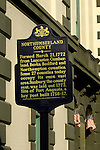 Northumberland County sign