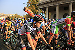 Fabio Aru (ITA) UAE Team Emirates at the start of the 112th edition of Il Lombardia 2018, the final monument of the season running 241km from Bergamo to Como, Lombardy, Italy. 13th October 2018.<br /> Picture: Eoin Clarke | Cyclefile<br /> <br /> <br /> All photos usage must carry mandatory copyright credit (© Cyclefile | Eoin Clarke)