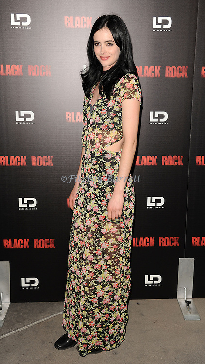 "Krysten Ritter at the screening of ""Black Rock"" held at the Arclight Theatre in Los Angeles, CA. on May 8, 2013."
