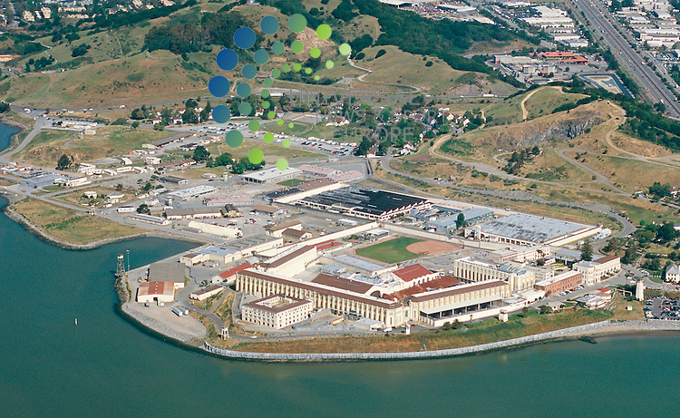 California is selling some of its landmark buildings, including San Quentin State Prison. The 157-year-old prison occupies prime property on San Francisco Bay. Also targeted are the Los Angeles Memorial Coliseum and the San Francisco area's Cow Palace. The California Governor, Arnold Schwarzenegger, wants to sell state property, including the Los Angeles Memorial Coliseum and San Quentin State Prison, to raise $600 million to $1 billion over the next two to five years. .Picture: Universal News and Sport (Scotland) 15/5/09.
