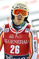 January 8th 2020, Madonna di Campiglio, Italy; FIS Alpine Ski World Cup Men's Night Slalom in Madonna di Campiglio, Italy on January 8, 2020,<br /> Linus Strasser(GER)
