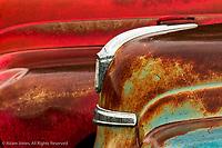 Old abandoned trucks, Palouse region of eastern Washington.
