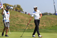 Soomin Lee (KOR) on the 9th during Round 1 of the HNA Open De France at Le Golf National in Saint-Quentin-En-Yvelines, Paris, France on Thursday 28th June 2018.<br /> Picture:  Thos Caffrey | Golffile