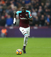 West Ham United's Cheikhou Kouyate<br /> <br /> Photographer Rob Newell/CameraSport<br /> <br /> The Premier League - West Ham United v Watford - Saturday 10th February 2018 - London Stadium - London<br /> <br /> World Copyright &copy; 2018 CameraSport. All rights reserved. 43 Linden Ave. Countesthorpe. Leicester. England. LE8 5PG - Tel: +44 (0) 116 277 4147 - admin@camerasport.com - www.camerasport.com