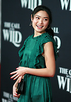 HOLLYWOOD, CA - FEBRUARY 13; Ashley Liao  at The Call Of The Wild World Premiere on February 13, 2020 at El Capitan Theater in Hollywood, California. Credit: Tony Forte/MediaPunch
