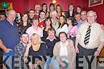 Party Time - Seanie Griffin from Fenit, seated centre having a wonderful time with family and friends at his surprise 50th birthday party held in McElligot's Bar, Ardfert on Saturday night........................................................................................................................................................................................................................................................................................................... ............