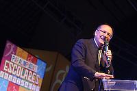 ATENCAO EDITOR IMAGEM EMBARGADA PARA VEICULOS INTERNACIONAIS - SAO PAULO, SP, 17 OUTUBRO 2012 - ABERTURA PARAOLIMPIADAS ESCOLARES - O prefeito de São Paulo, Gilberto Kassab e o governador de São Paulo, Geraldo Alckmin, na abertura das Paralimpíadas Escolares 2012 , no Anhembi, na zona norte de São Paulo, na noite de ontem terca-feira, 16. (FOTO: GEORGINA GARCIA / BRAZIL PHOTO PRESS).
