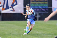 Piscataway, NJ - Saturday June 3, 2017: Kelley O'Hara during a regular season National Women's Soccer League (NWSL) match between Sky Blue FC and the Portland Thorns at Yurcak Field.  Portland defeated Sky Blue, 2-0.