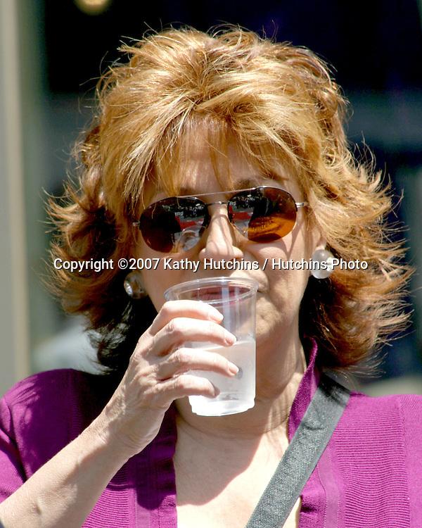 Joy Behar.Barbara Walters receives Star on the Hollywood Walk of Fame.Hollywood & Highland.Los Angeles, CA.June 14, 2007.©2007 Kathy Hutchins / Hutchins Photo....