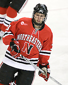 Ryan Ginand (Northeastern - 3) - The Boston College Eagles defeated the visiting Northeastern University Huskies 7-1 on Friday, March 9, 2007, to win their Hockey East quarterfinals matchup in two games at Conte Forum in Chestnut Hill, Massachusetts.