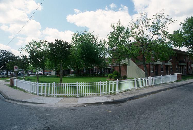 1998 April 21..Assisted Housing..Roberts Village..NEW FENCING...NEG#.NRHA#..