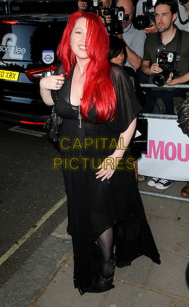 Jane Goldman .Attending the Glamour Women Of The Year Awards, Berkeley Square Gardens, .London, England, UK,.June 7th, 2011..outside full length black sheer long maxi dress .CAP/CAN.©Can Nguyen/Capital Pictures.