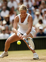 4-7-06,England, London, Wimbledon, quarter finals, Kim Clijsters