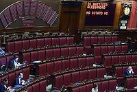 Roma, 30 Aprile 2015<br /> alessandro di Battista ha votato no.<br /> Votata le seconda fiducia alla Legge elettorale