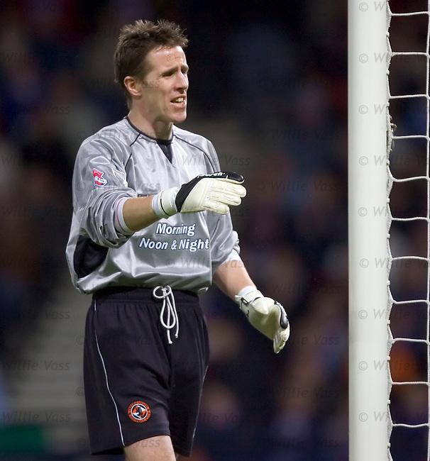 Nick Colgan, Dundee Utd.stock season 2004-2005.pic willie vass