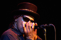 Pictured: Arthur Lee 27 June 2004<br /> Re: Love with Arthur Lee at the Patti Pavilion, Swansea, Wales, UK