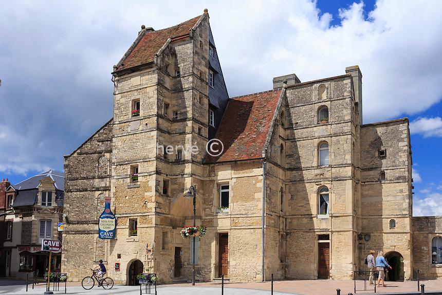 France, Calvados (14), Dives-sur-Mer, le manoir de Bois-Hibout dit aussi la Lieutenance // France, Calvados, Dives sur Mer, Bois Hibout manor or the Lieutenance