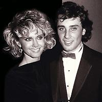 Olivia Newton John Matt Lattanzi 1985<br /> Photo By John Barrett/PHOTOlink