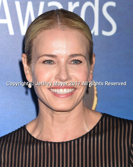 BEVERLY HILLS, CA - FEBRUARY 19: TV personality/comedian Chelsea Handler attends the 2017 Writers Guild Awards L.A. Ceremony at The Beverly Hilton Hotel on February 19, 2017 in Beverly Hills, California.