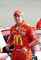 May 1, 2009; Richmond, VA, USA; NASCAR Sprint Cup Series driver Reed Sorenson during qualifying for the Russ Friedman 400 at the Richmond International Raceway. Mandatory Credit: Mark J. Rebilas-