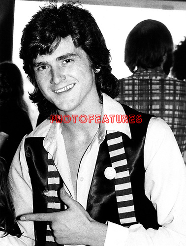 Bay City Rollers 1978 Les McKeown.© Chris Walter.