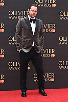 Danny Dyer<br /> arriving for the Olivier Awards 2019 at the Royal Albert Hall, London<br /> <br /> ©Ash Knotek  D3492  07/04/2019