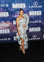 "11 June 2019 - New York, New York - Tessa Thompson. ""Men In Black: International"" New York Premiere held at AMC Lincoln Square. Photo Credit: Mario Santoro/AdMedia"
