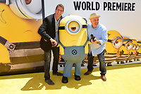 Cinco Paul &amp; Ken Daurio at the world premiere for &quot;Despicable Me 3&quot; at the Shrine Auditorium, Los Angeles, USA 24 June  2017<br /> Picture: Paul Smith/Featureflash/SilverHub 0208 004 5359 sales@silverhubmedia.com