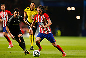 31st October 2017, Wanda Metropolitano, Madrid, Spain; UEFA Champions League, Atletico Madrid versus Qarabag FK; Filipe Luis Kasmirski (3) of Atletico Madrid