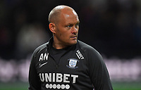 Preston North End's Manager Alex Neil<br /> <br /> Photographer Dave Howarth/CameraSport<br /> <br /> The Carabao Cup Third Round - Preston North End v Manchester City - Tuesday 24th September 2019 - Deepdale Stadium - Preston<br />  <br /> World Copyright © 2019 CameraSport. All rights reserved. 43 Linden Ave. Countesthorpe. Leicester. England. LE8 5PG - Tel: +44 (0) 116 277 4147 - admin@camerasport.com - www.camerasport.com