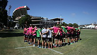 General views during The Cell C Sharks training session at Jonsson Kings Park Stadium in Durban, South Africa. 18th January 2019 (Photo by Steve Haag)