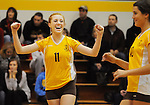 St. Francis Girls Volleyball beats Chico
