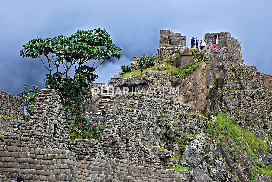 Ruínas da cidade Inca de Machu Pichu. Cusco. Peru. 2007. Foto de Vinicius Romanini.