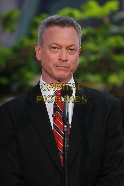 WASHINGTON, D.C. - MAY 23: Gary Sinise pictured at the National Memorial Day Concert rehearsal the West Lawn of The U.S. Capital in Washington, D.C. on May 23, 2015.  <br /> CAP/MPI/mpi34<br /> &copy;mpi34/MediaPunch/Capital Pictures
