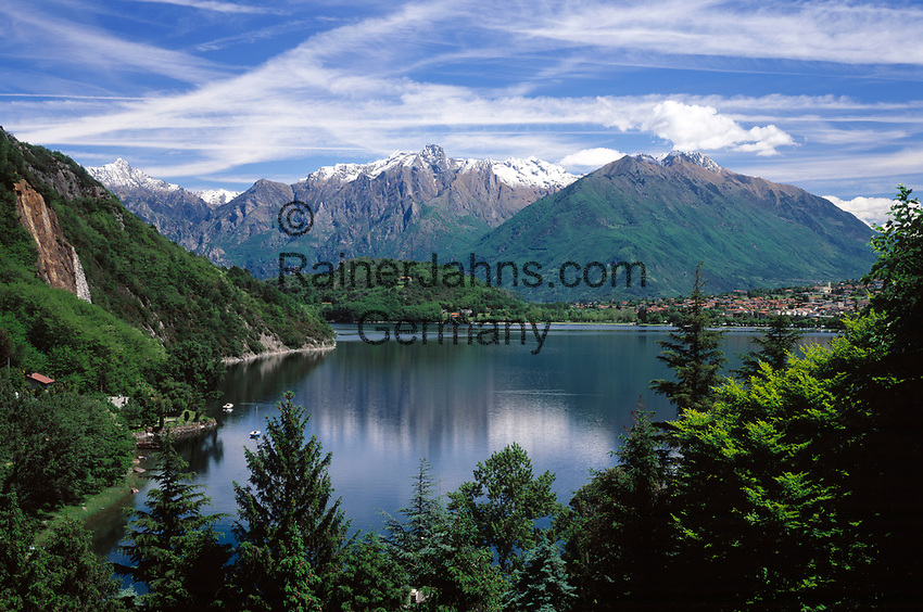 ITA, Italien, Lombardei, Comer See einmal anders, ganz im Norden bei Colico - fast wie in Kanada | ITA, Italy, Lombardia, Lake Como, in the very north near Colico