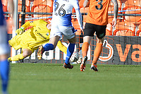 Mark Cousins Of Barnet makes a great save during Barnet vs Bristol Rovers, Emirates FA Cup Football at the Hive Stadium on 11th November 2018