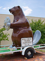 Beaver, Oklahoma home of the World Cowchip Throwing Championship