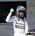Formula 1 United States Grand Prix 2014, 31.10.-02.11.14<br /> Qualifying: 1. Nico Rosberg(GER#6), Mercedes AMG Petronas F1 Team<br /> Foto &copy; nordphoto /  Bratic