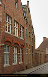 Medieval Houses c. 1500, Goezeputstraat, Bruges, Brugge, Belgium