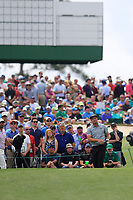 Bryson DeChambeau (USA) on the 3rd tee during the 2nd round at the The Masters , Augusta National, Augusta, Georgia, USA. 12/04/2019.<br /> Picture Fran Caffrey / Golffile.ie<br /> <br /> All photo usage must carry mandatory copyright credit (© Golffile | Fran Caffrey)