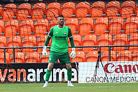 Scott Loach of Barnet  during Barnet vs Wycombe Wanderers, Friendly Match Football at the Hive Stadium on 13th July 2019