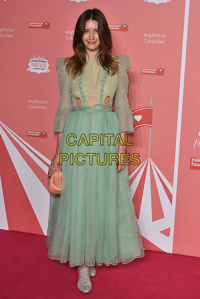 Lyza Onysko<br /> arrivals at London's Fabulous Fund Fair 2016 in aid of the Naked Heart Foundation at Old Billingsgate Market on 20th February 2016.<br /> CAP/PL<br /> &copy;Phil Loftus/Capital Pictures