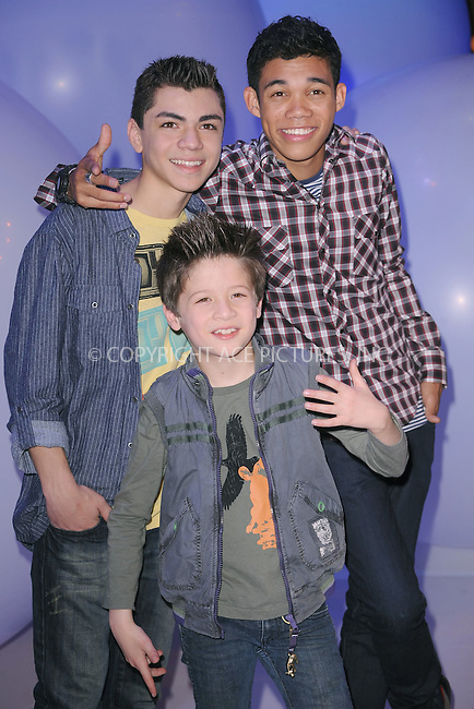 WWW.ACEPIXS.COM . . . . . .March 16, 2011...New York City... Adam Irigoyen, Roshon Fegan and Davis Cleveland attend Disney Kids and Family Upfront on March 16, 2011 in New York City....Please byline: KRISTIN CALLAHAN - ACEPIXS.COM.. . . . . . ..Ace Pictures, Inc: ..tel: (212) 243 8787 or (646) 769 0430..e-mail: info@acepixs.com..web: http://www.acepixs.com .